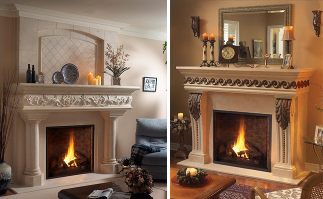 Decorating Your Fireplace Mantel | OmegaMantels.com