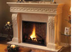Choose a fireplace surround