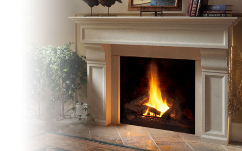 Fireplace Mantels Grandstock Series