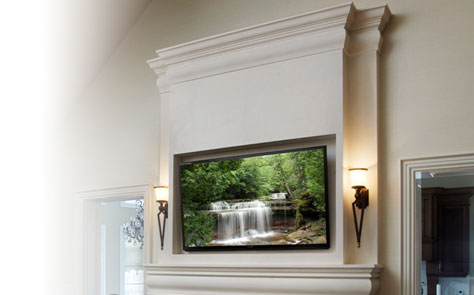 Fireplace Overmantels
