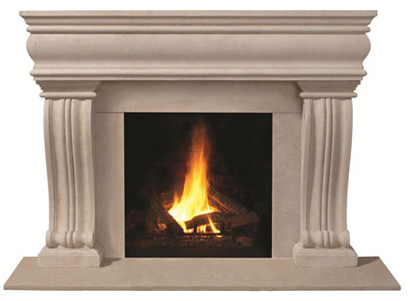 Omega Mantels of Stone - specializing in cast stone products for fireplace