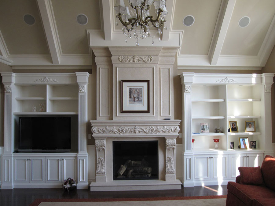 Fireplace Mantels, Overmantels and Surrounds | Omega Mantels