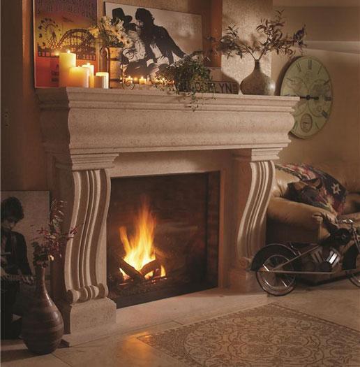 Fireplace Stone Mantels Gallery Omega Mantels