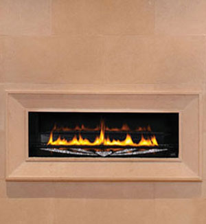 1116 fireplace stone mantel