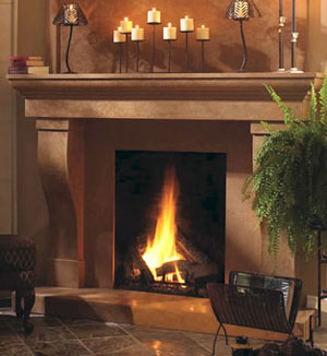 1147.599 fireplace stone mantel