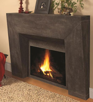 7703 fireplace stone mantel