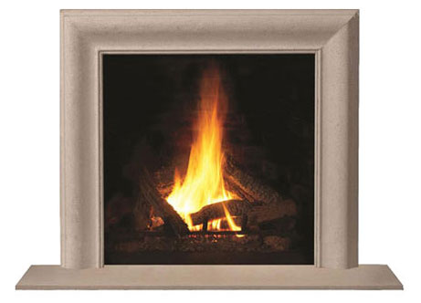 1115.7 fireplace stone mantel