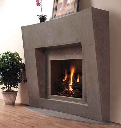 7702 fireplace stone mantel