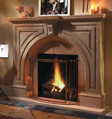 Our hand-crafted fireplace mantels offers a variety of designs that range from contemporary to classic. Each piece is expertly constructed from lightweight