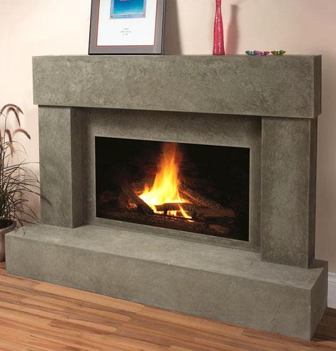 7701 fireplace stone mantel