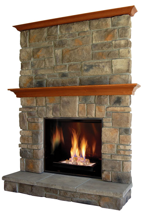 Elk ridge fireplace stone mantel - Pictures of fireplace mantels ...